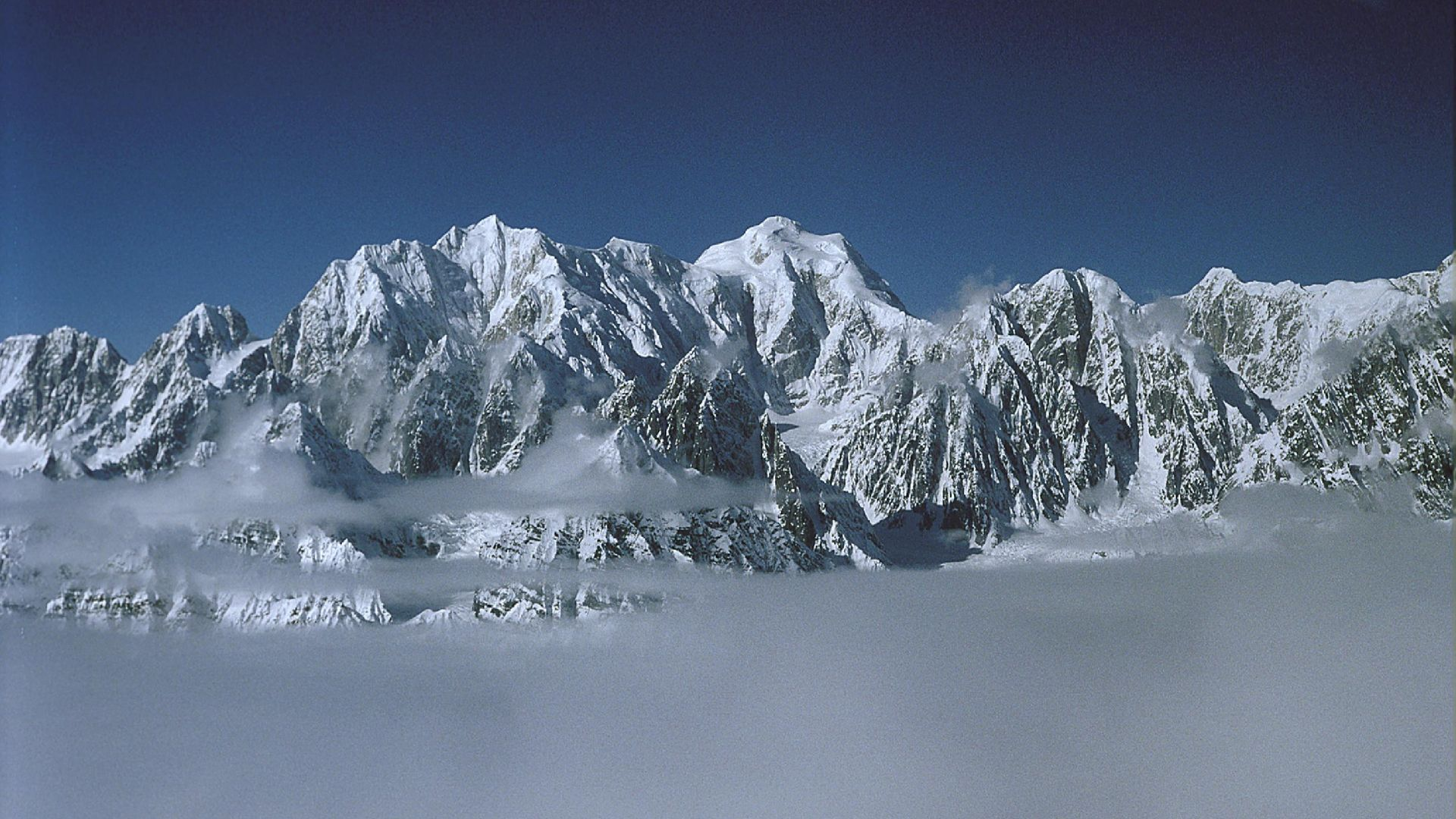 Mt Laurens, Alaska, first ascent, solo 1987